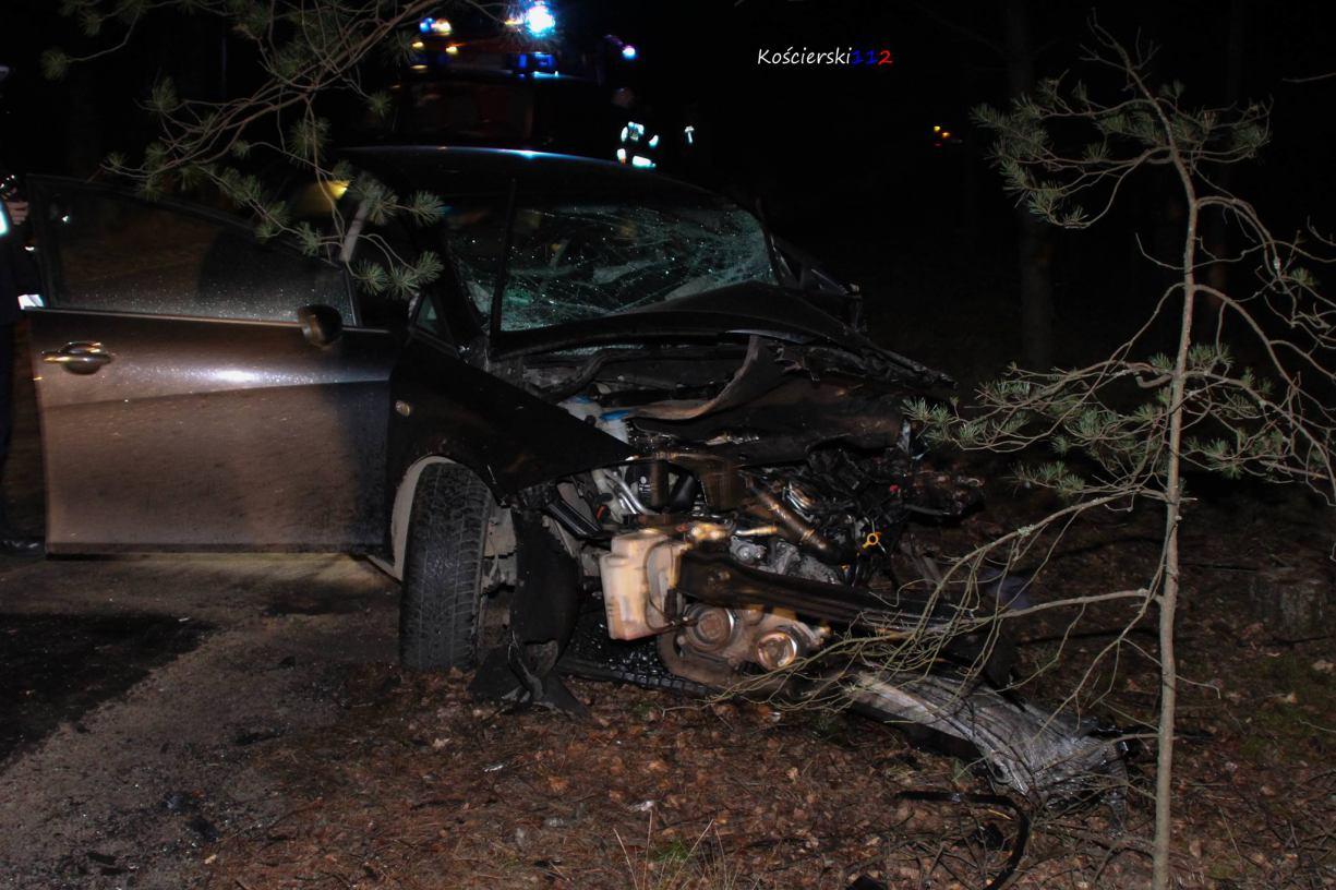 Zarzuty za śmiertelny wypadek w Olpuchu koło Kościerzyny