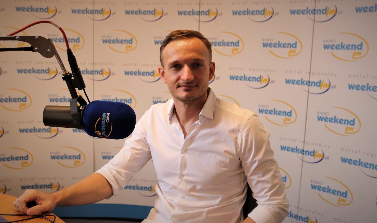 Łukasz DRIST Kallas z Chojnic prezentuje Sunset w Weekend FM