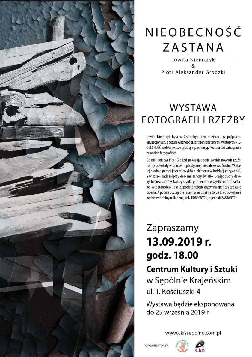 Dziś (13.09.) w Sępólnie otwarcie wystawy zdjęć Jowity Niemczyk z wyprawy do Czarnobyla