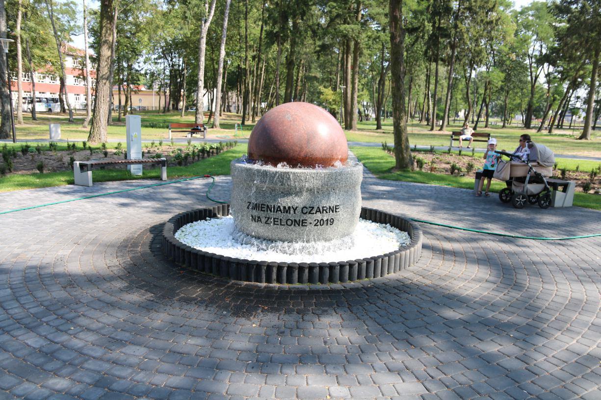 Park w Czarnem i teren nad Czernicą są już po rewitalizacji