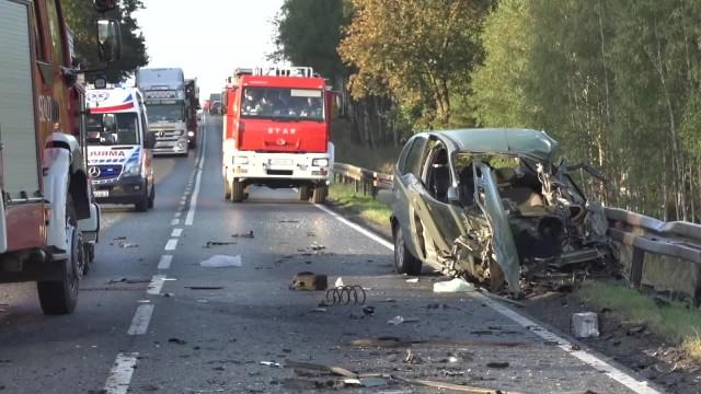 Dwie osoby zostały ranne w wypadku w woj. kujawsko-pomorskim