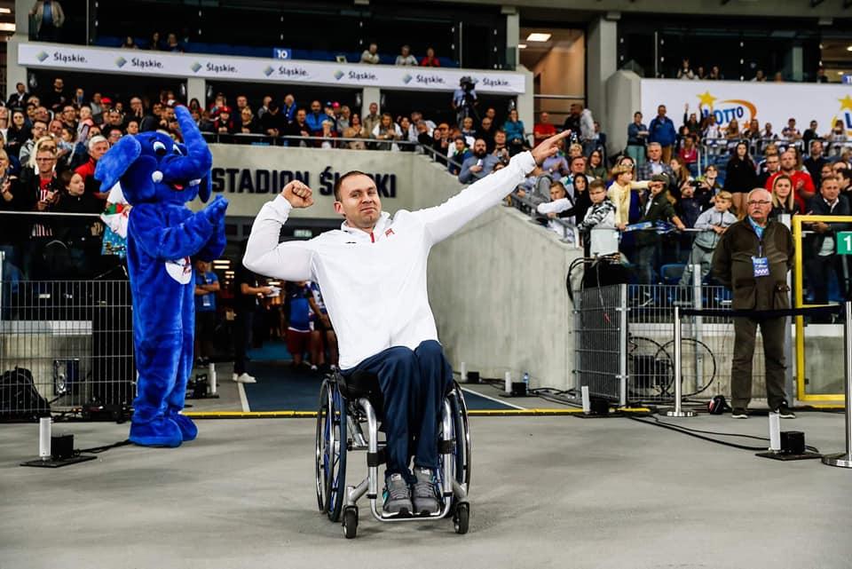 Lech Stoltman z Chojnic pobił swój własny rekord Polski w pchnięciu kulą osób niepełnosprawnych