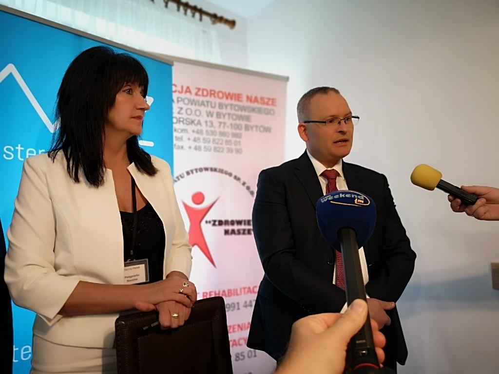 400 tysięcy złotych na zakup nowej karetki pogotowia otrzymał Szpital Powiatu Bytowskiego