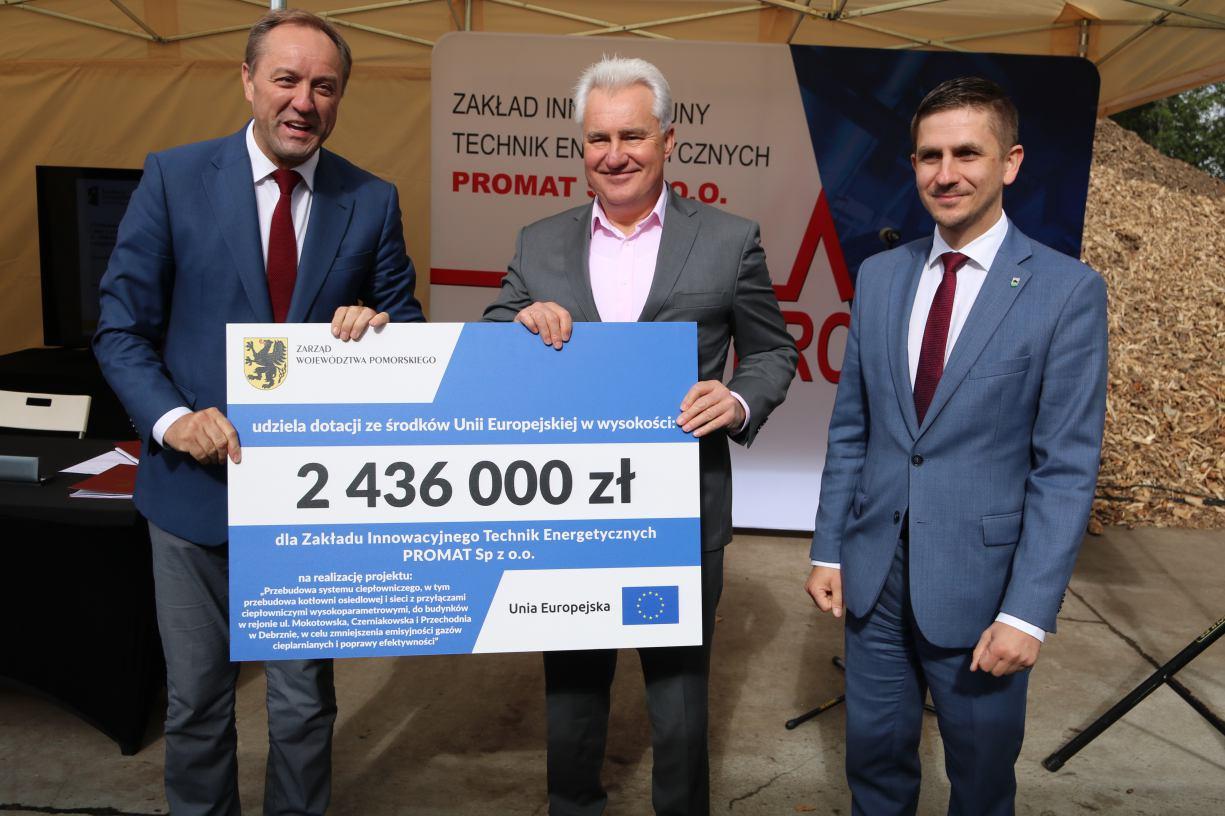 Jest unijne dofinansowanie na modernizację ciepłowni w Debrznie
