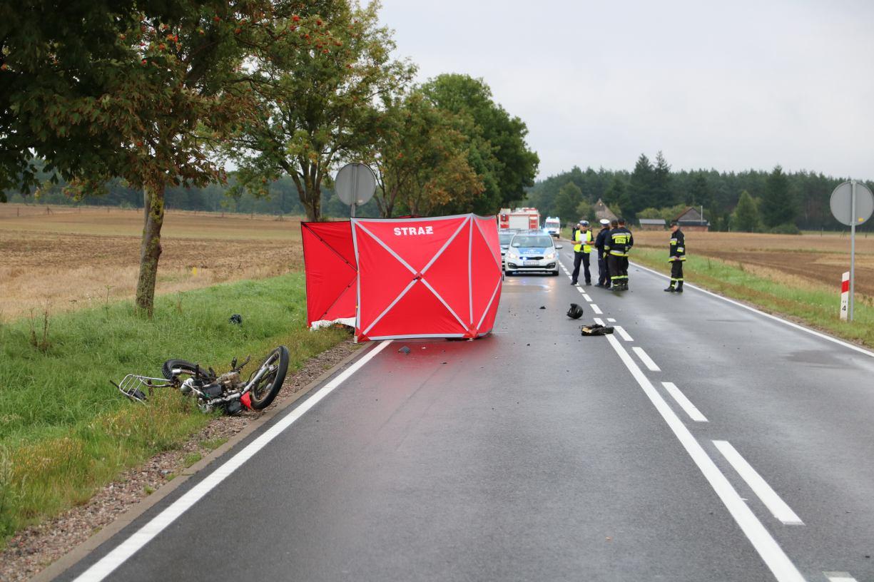 Człuchowski sąd skazał mieszkankę Rzeczenicy za śmiertelne potrącenie motorowerzysty