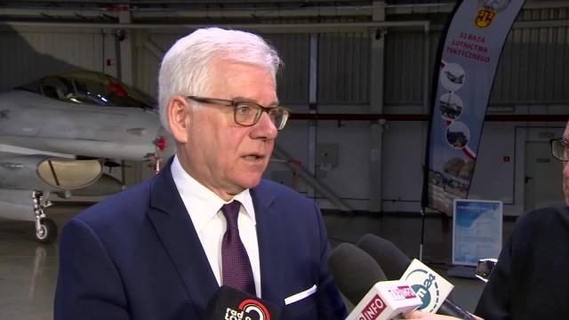 J. Czaputowicz: Deklaracja o współpracy wojskowej z USA ma duże znaczenie dla obu stron
