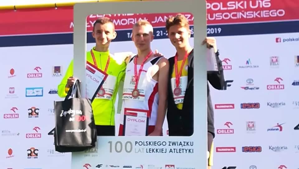 Wicemistrzostwo lekkoatlety Baszty Bytów w biegu na 2 km