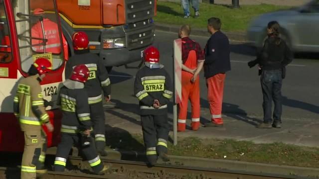 14 osób zostało rannych w zderzeniu tramwaju z autobusem wiozącym niemieckich turystów w Gdańsku