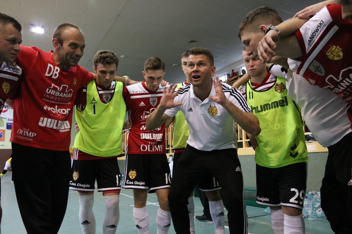 Futsaliści Red Devils Chojnice powalczą dziś 28.09 o pierwsze zwycięstwo w nowym sezonie