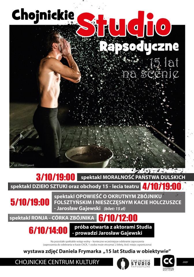 Chojnickie Studio Rapsodyczne świętuje okrągłą rocznicę działalności
