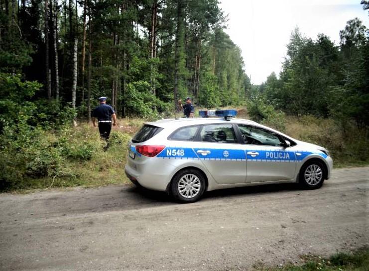 Kościerska policja poszukiwała wczoraj 8.10. dwóch grzybiarzy