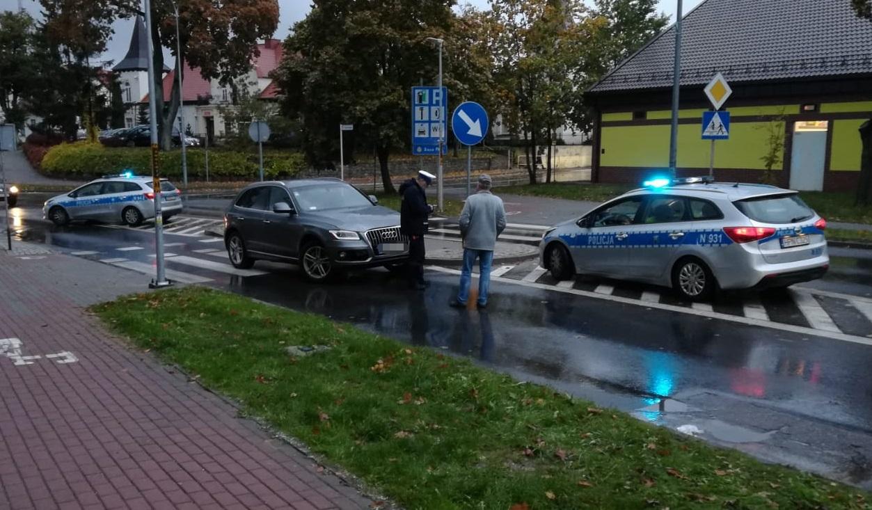 AKTUALIZACJA: Zmarła mieszkanka Człuchowa potrącona na przejściu dla pieszych