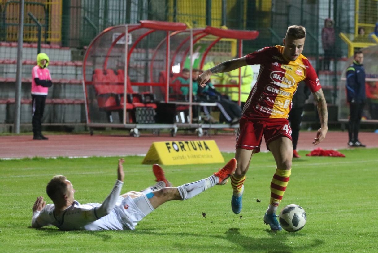 Po 10 meczach z rzędu u siebie Chojniczanka zagra na wyjeździe