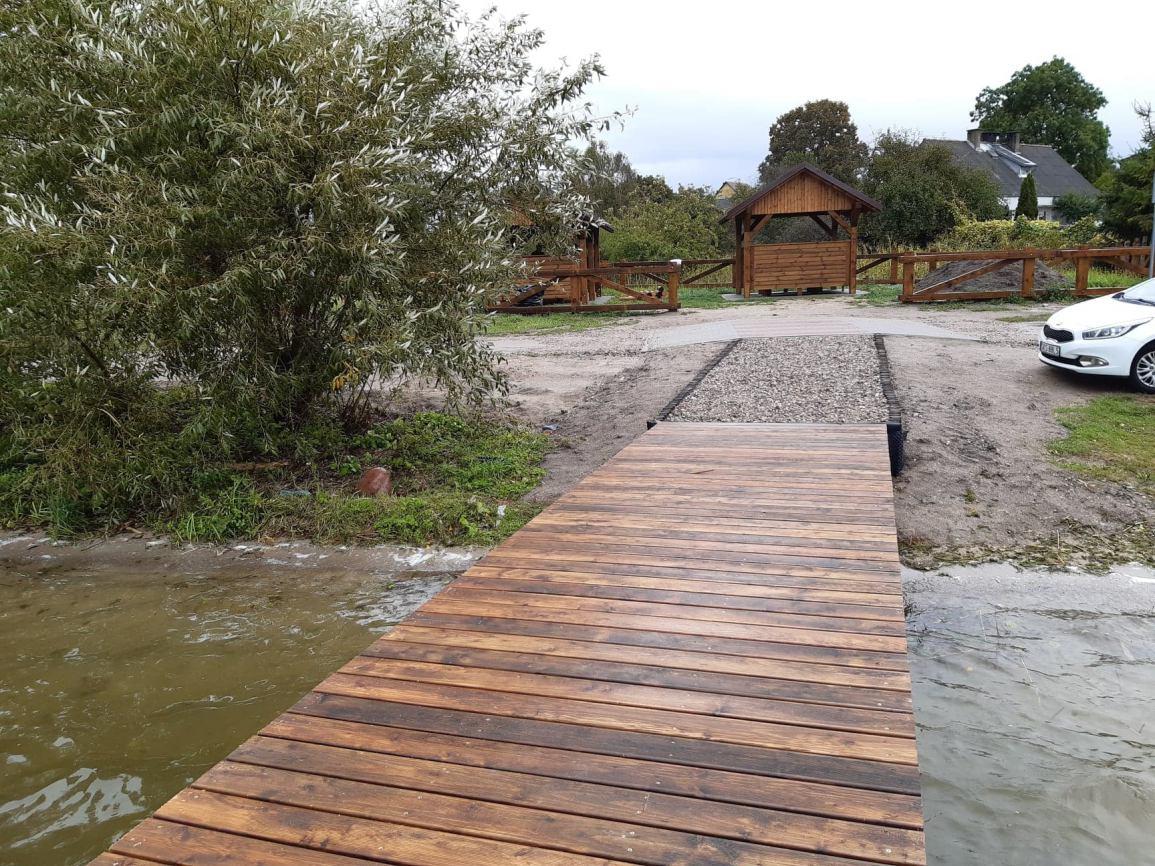 Cztery przystanie kajakowe zostaną lada dzień oddane do użytku w gminie Kościerzyna