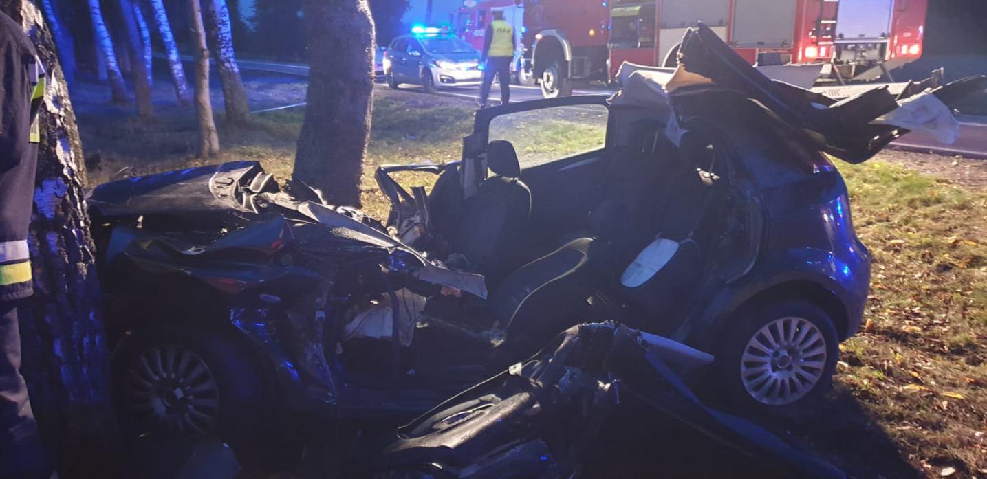 19-latka poszkodowana w wypadku na drodze krajowej nr 20 w powiecie bytowskim