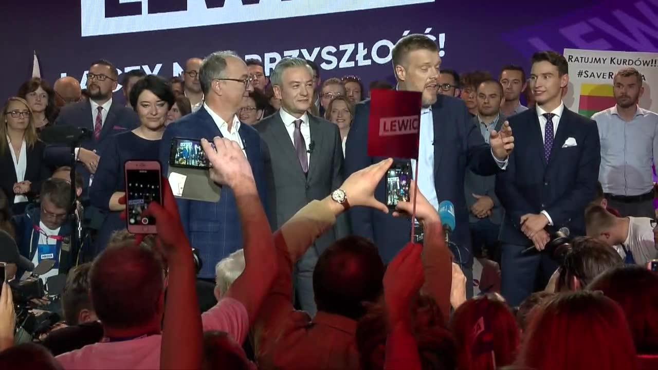 J. Kaczyński ma problem. Liderzy Lewicy świętują powrót do parlamentu