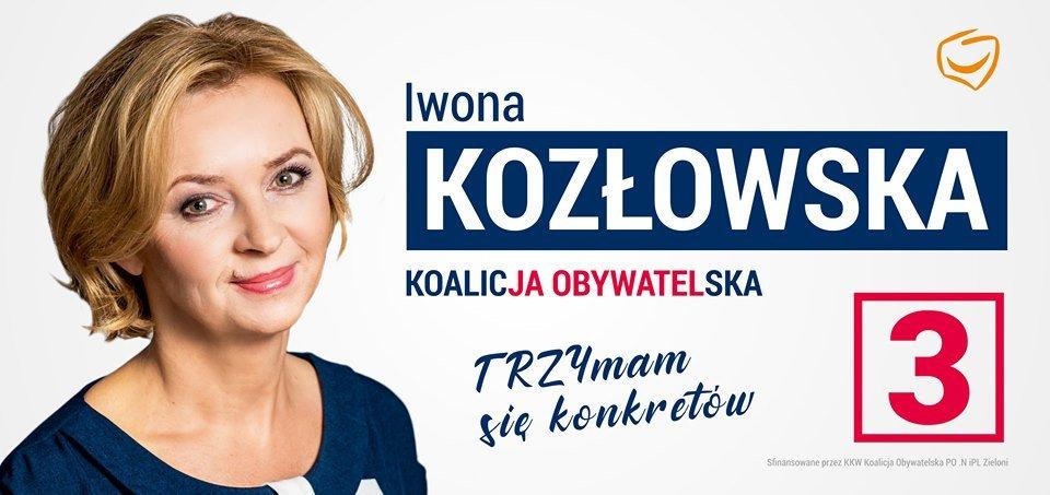 Iwona Kozłowska z powiatu sępoleńskiego wraca do Sejmu