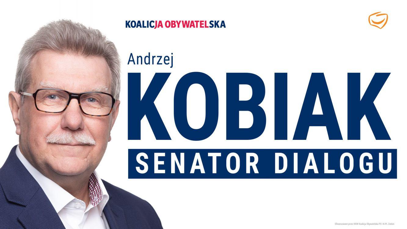 Tucholski senator Andrzej Kobiak komentuje wyborczy wynik