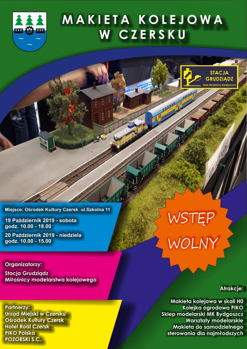 W Czersku będzie można zobaczyć wystawę z makietą kolejową w roli głównej WIDEO