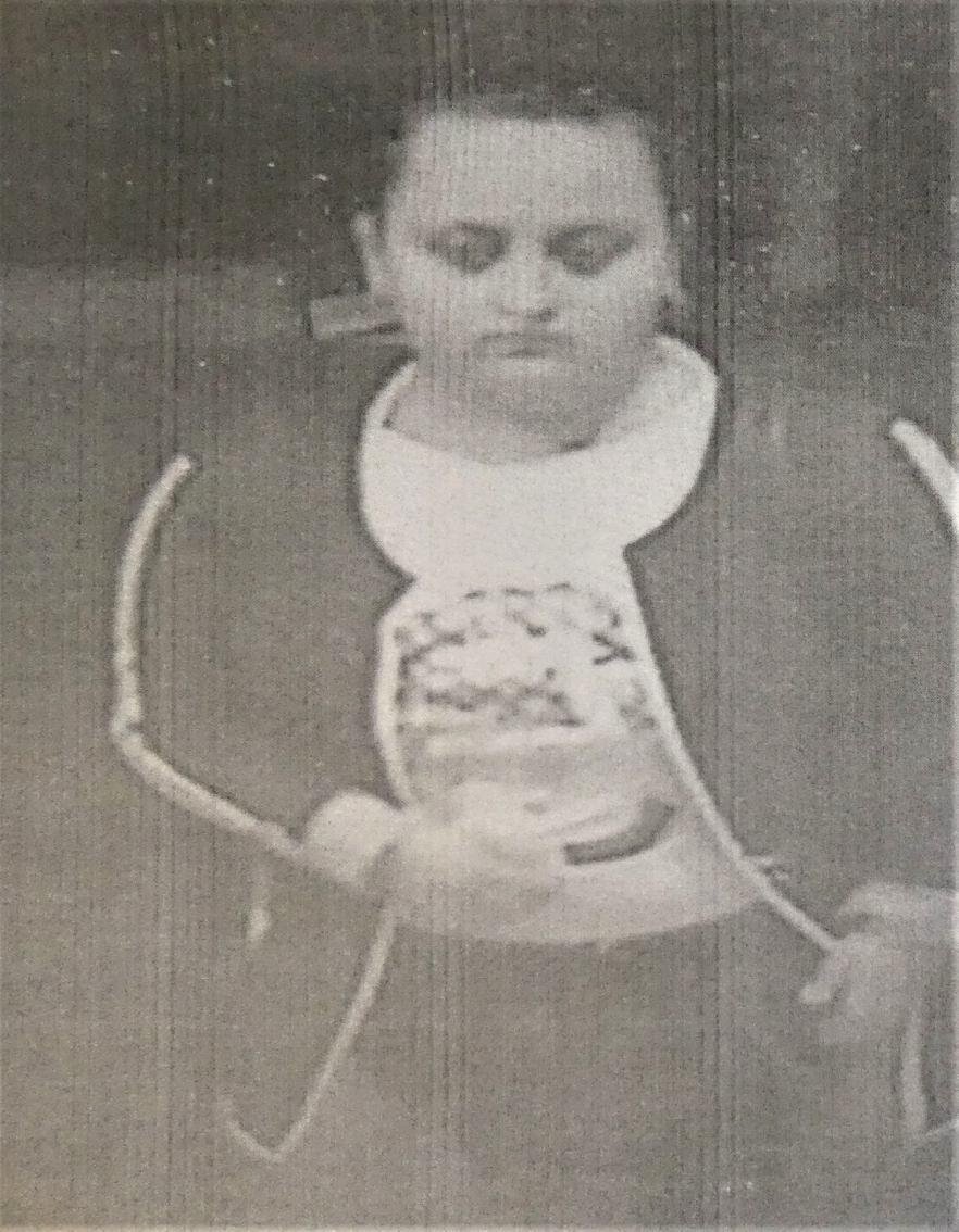 Funkcjonariusze w Kościerzynie publikują zdjęcie osoby podejrzewanej o dokonanie kradzieży