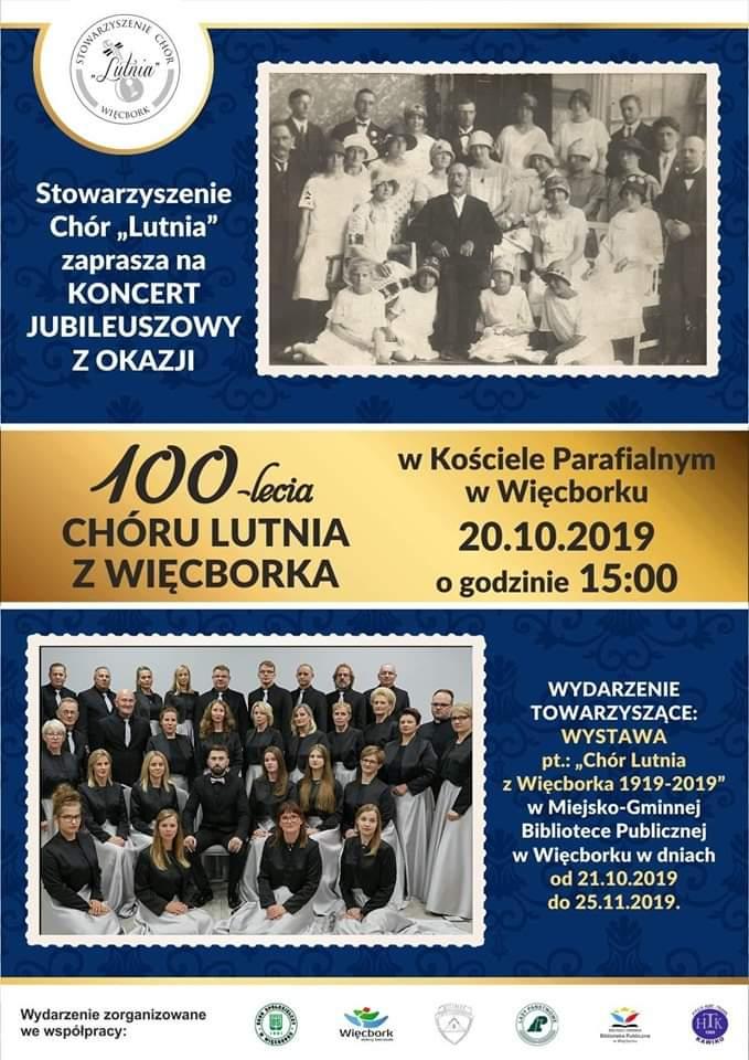 Chór Lutnia w Więcborku obchodzi jubileusz 100-lecia