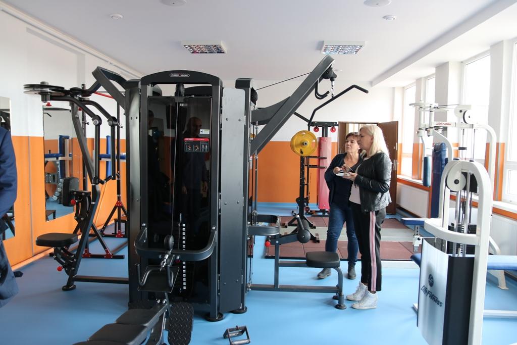 Siłownia w tucholskim Ośrodku Sportu i Rekreacji przeszła kompleksowy remont FOTO