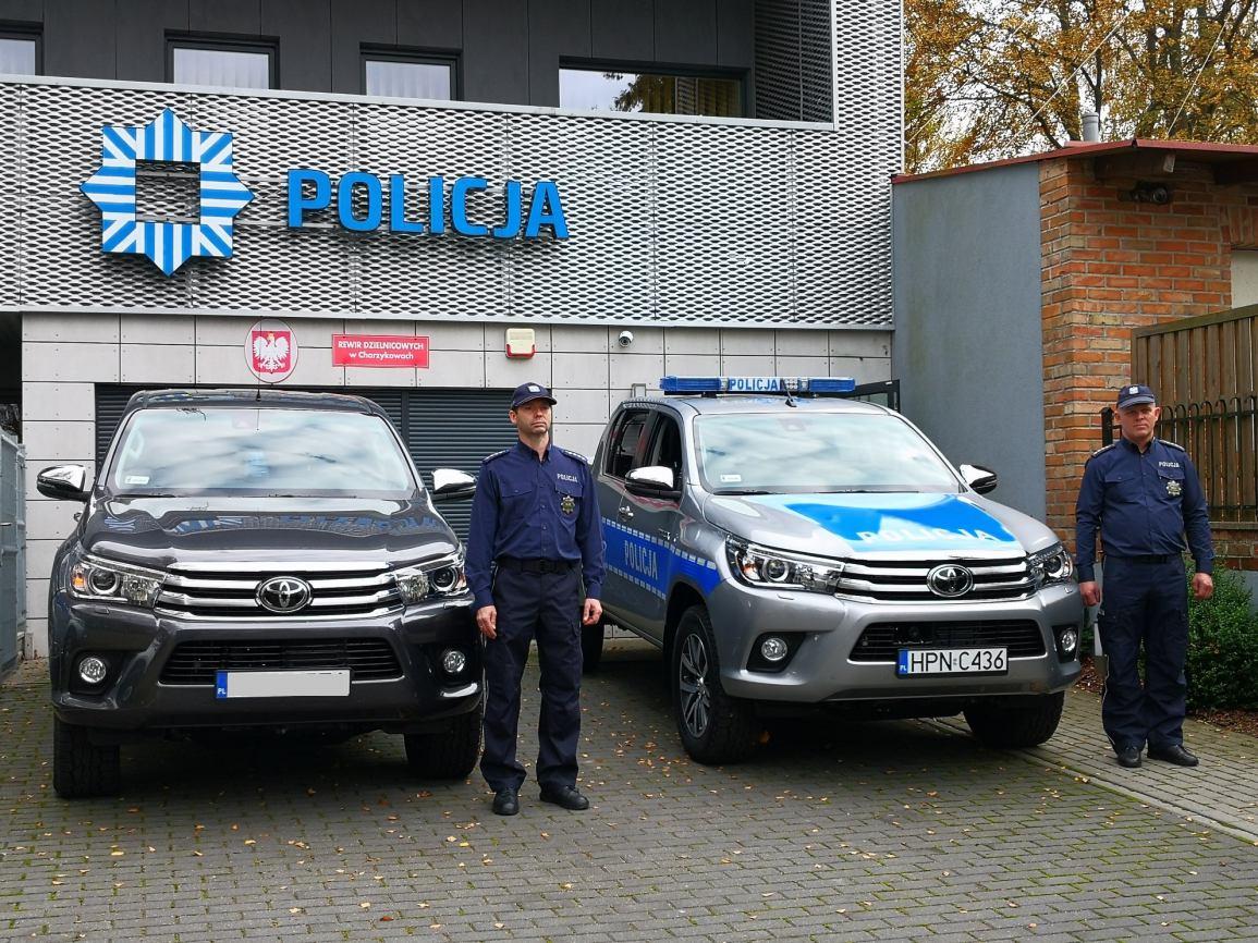 Nowe radiowozy w chojnickiej Policji