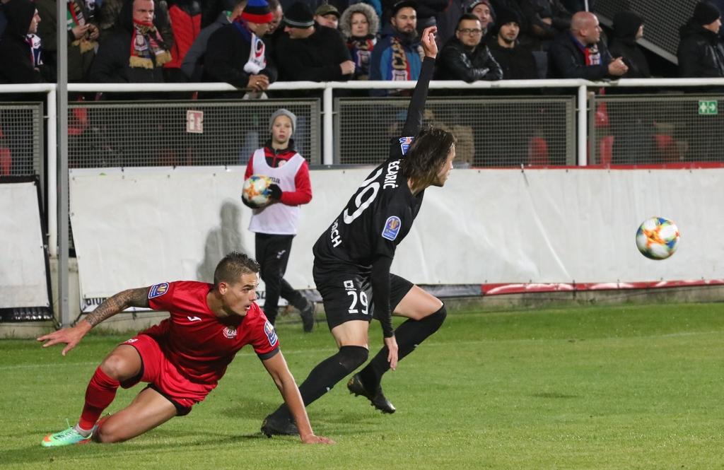Kibice Bytovii Bytów zadowoleni z postawy drużyny w meczu Pucharu Polski