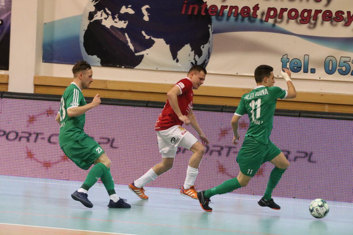 Futsaliści Red Devils Chojnice zagrają na wyjeździe z mistrzem Polski Rekordem Bielsko-Biała