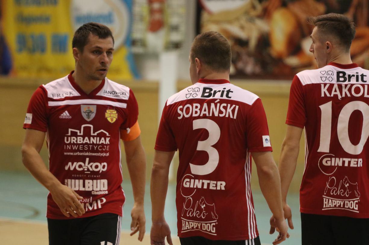 Brak koncentracji, brak dobrych decyzji. Nie było niespodzianki w Bielsku-Białej. Rekord pokonał Red Devils Chojnice 71