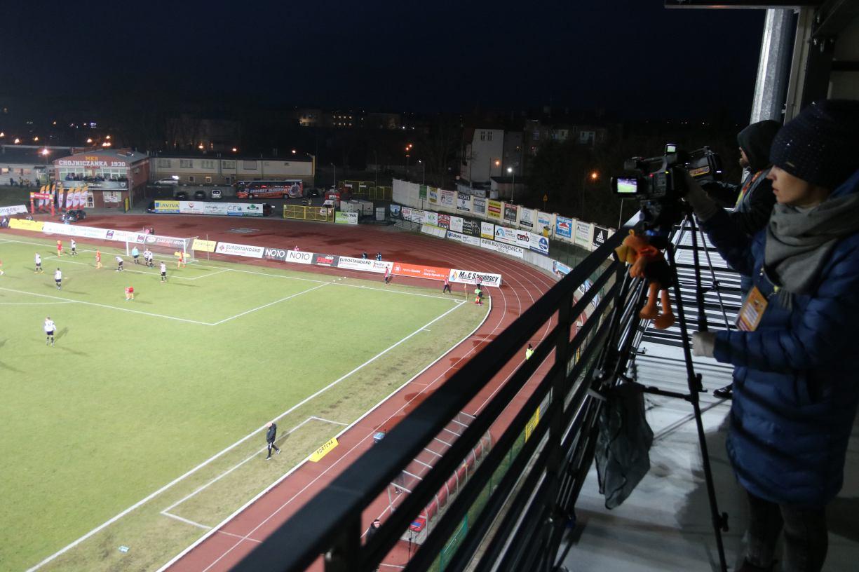 Co dalej z instalacją podgrzewanej murawy na stadionie Chojniczanki?