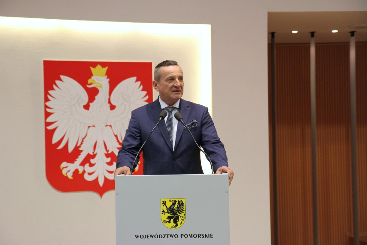 Dyrektor chojnickiego szpitala Leszek Bonna wicemarszałkiem województwa pomorskiego