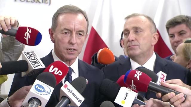 Marszałek Grodzki &bdquoW Senacie drzwi będą otwarte dla przyzwoitości, normalności, poszanowania konstytucji...