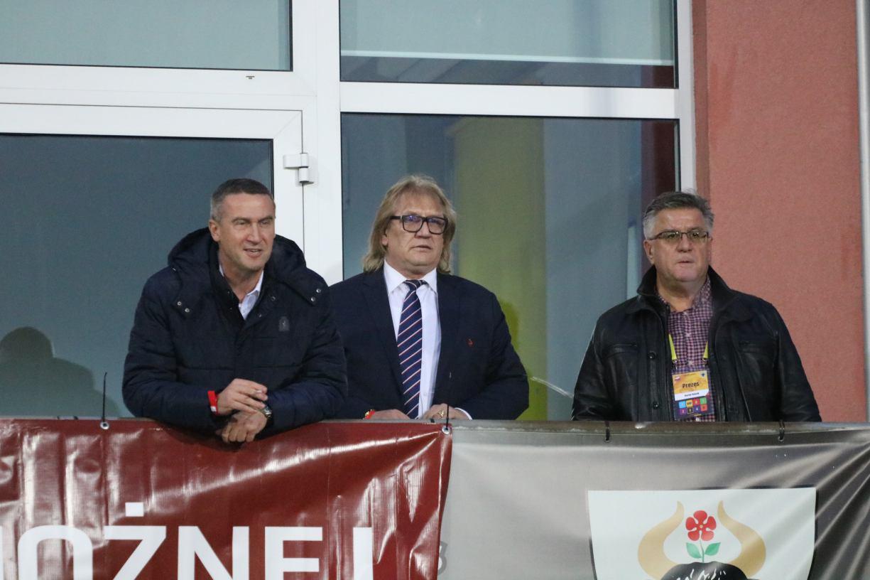 Prezes Pomorskiego Związku Piłki Nożnej chwali Chojnice za organizację meczu Polska-Szwajcaria