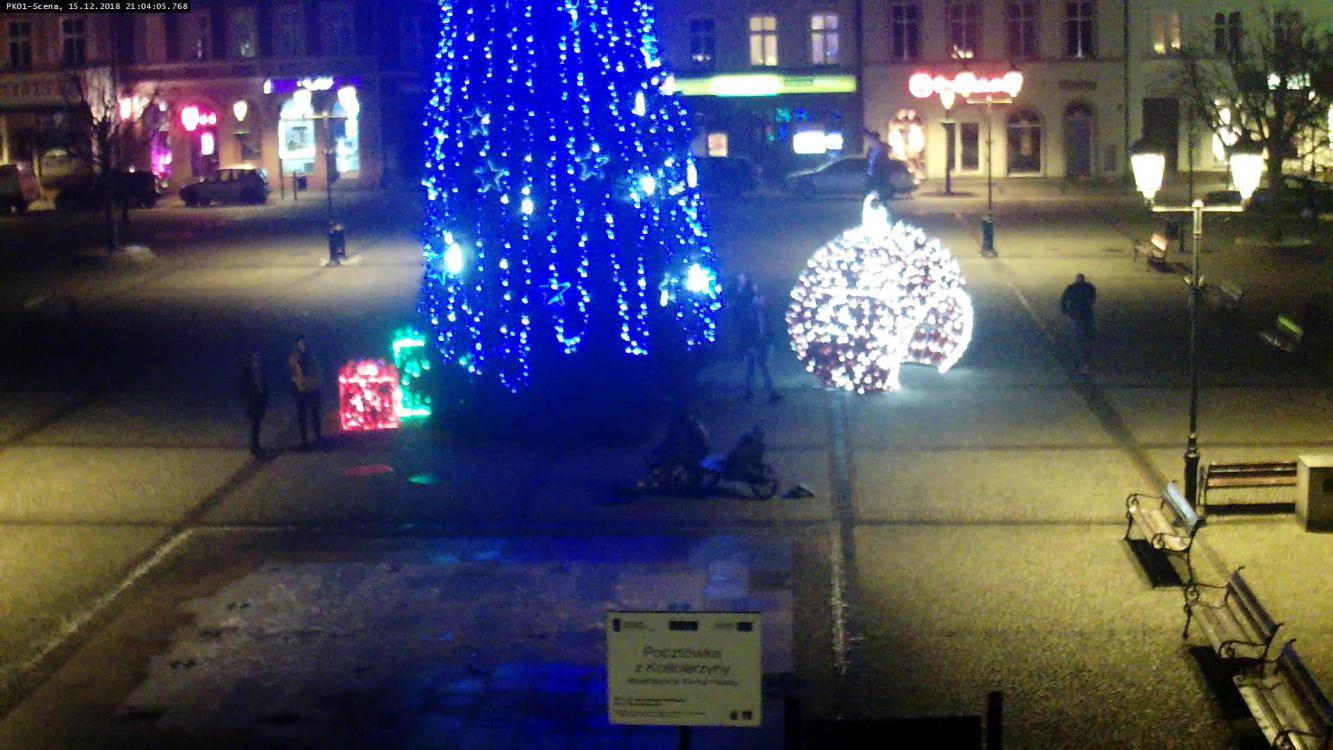 Rok temu zniszczył świąteczną ozdobę na rynku w Kościerzynie. Musi naprawić szkodę