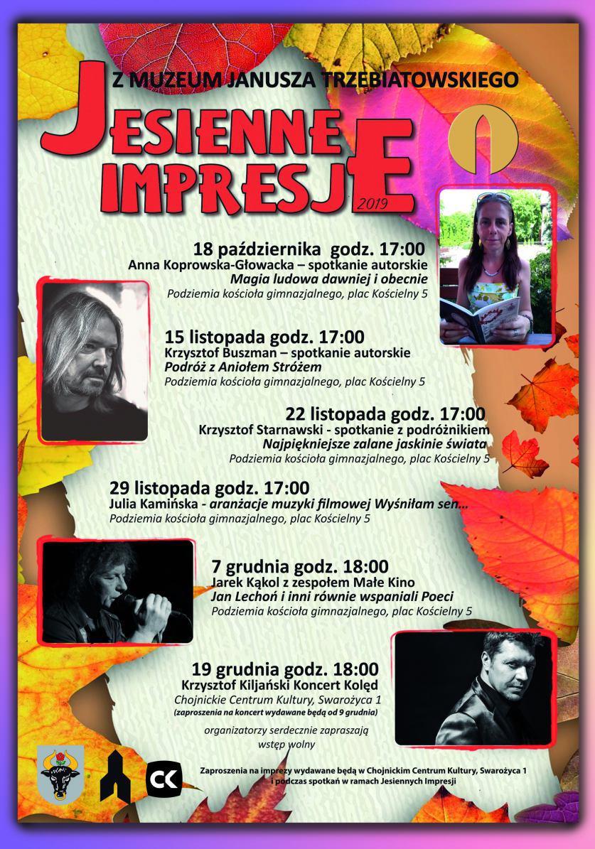 Koncert zespołu Małe Kino to kolejna atrakcja tegorocznych chojnickich Jesiennych Impresji