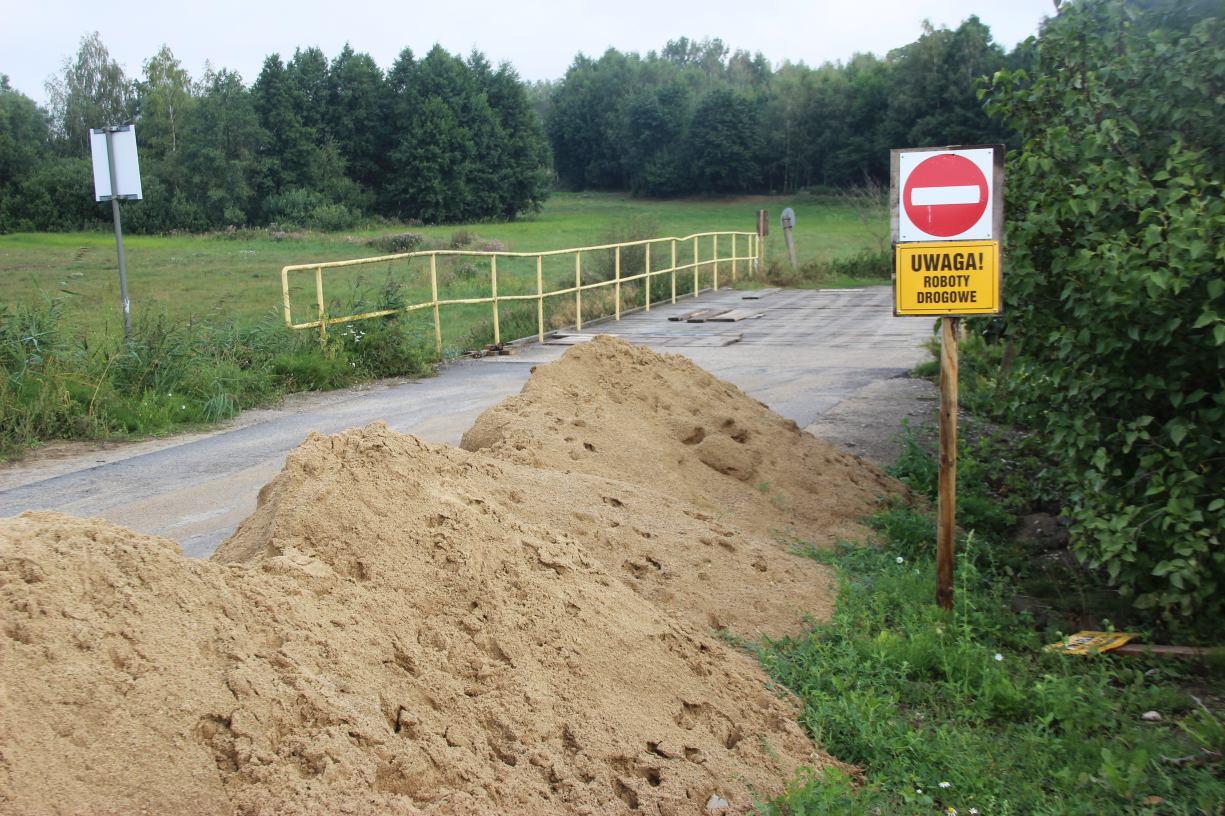 Rozpoczął się remont mostu w miejscowości Toboła, w gminie Sępólno Krajeńskie