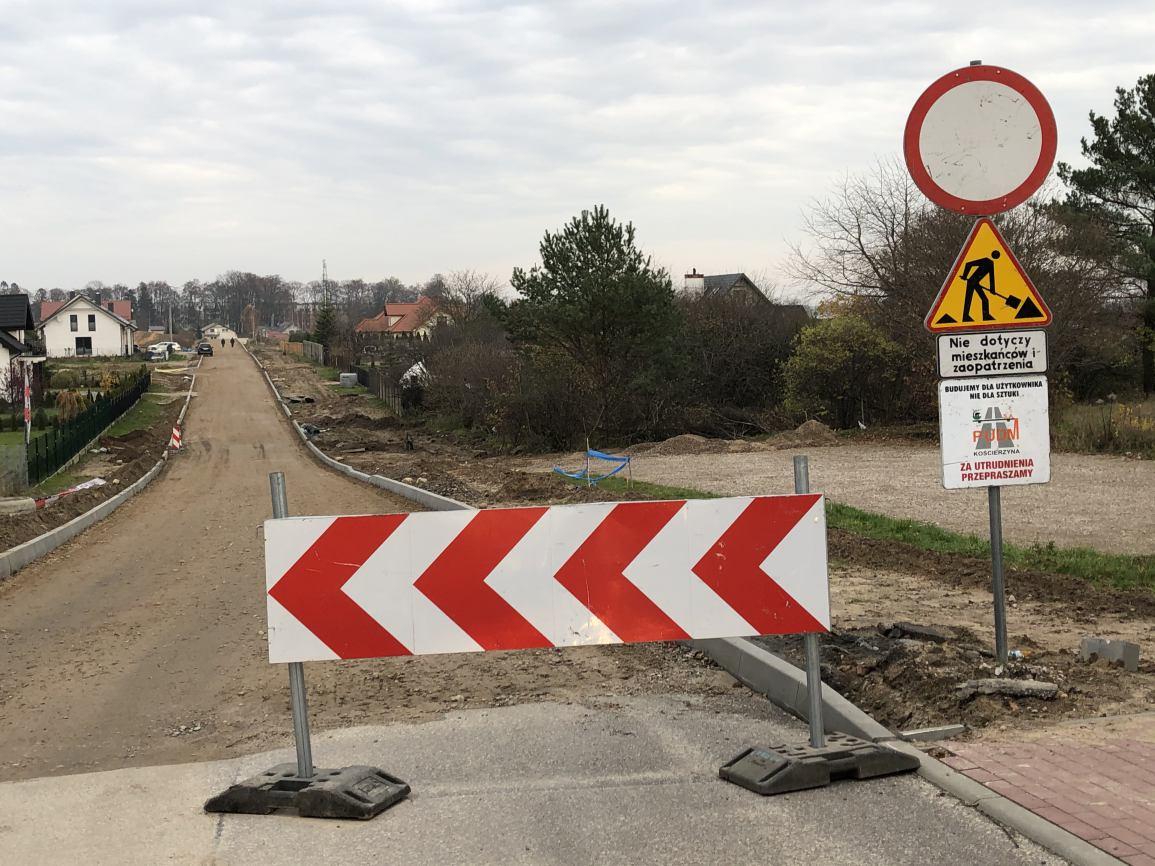 Trwają remonty dróg osiedlowych w Kościerzynie