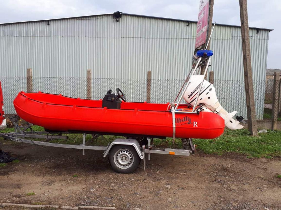 OSP w Swornegaciach ma nową łódź ratunkową