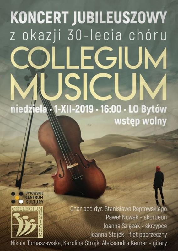 Bytowski chór Collegium Musicum obchodzi 30-lecie powstania