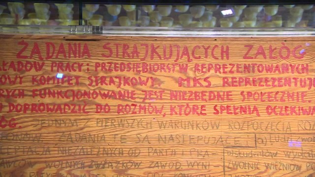 ECS nie wyda tablic z postulatami strajkujących związkowców z 1980 roku.