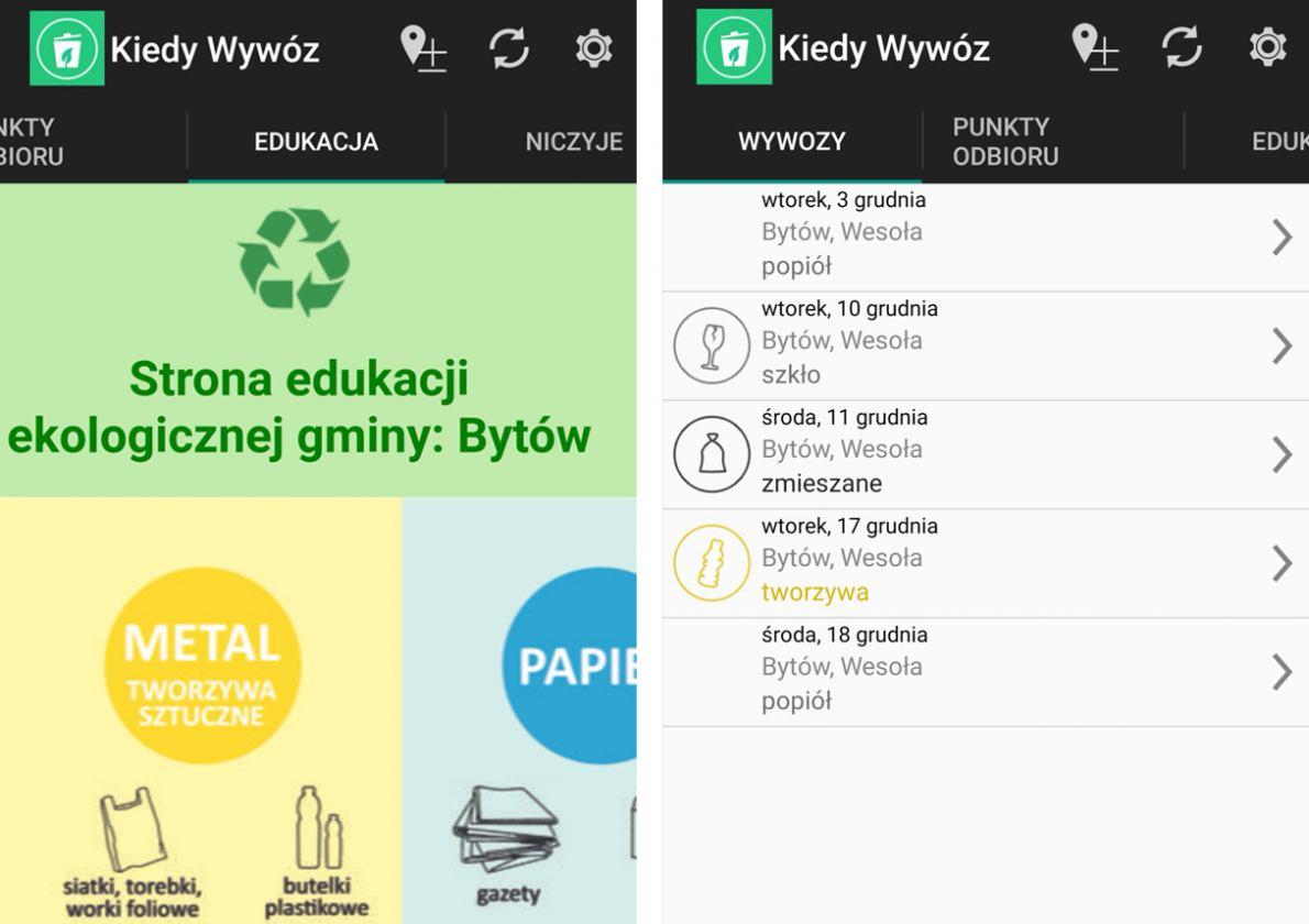 Gmina Bytów testuje aplikację dotyczącą wywożenia odpadów