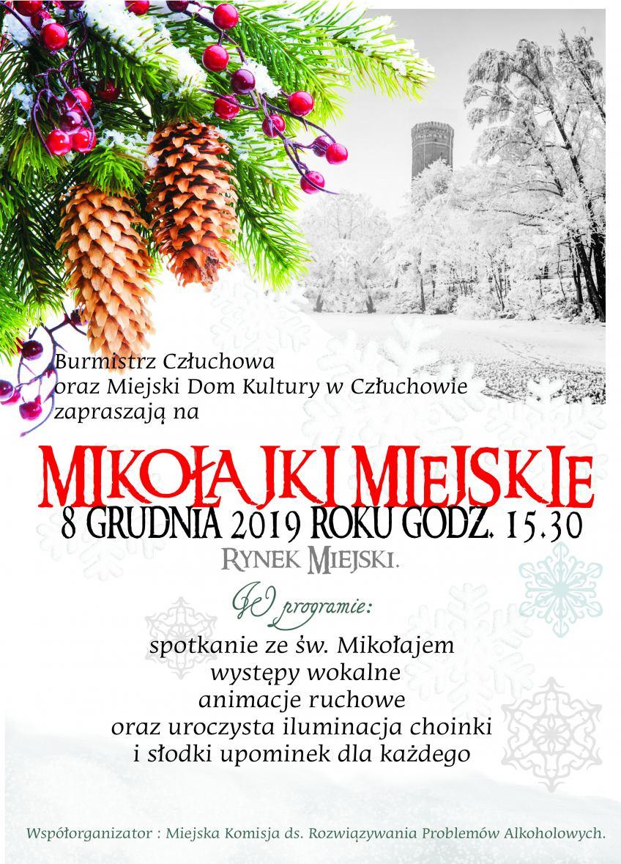 Dziś (8.12) Miejskie Mikołajki w Człuchowie