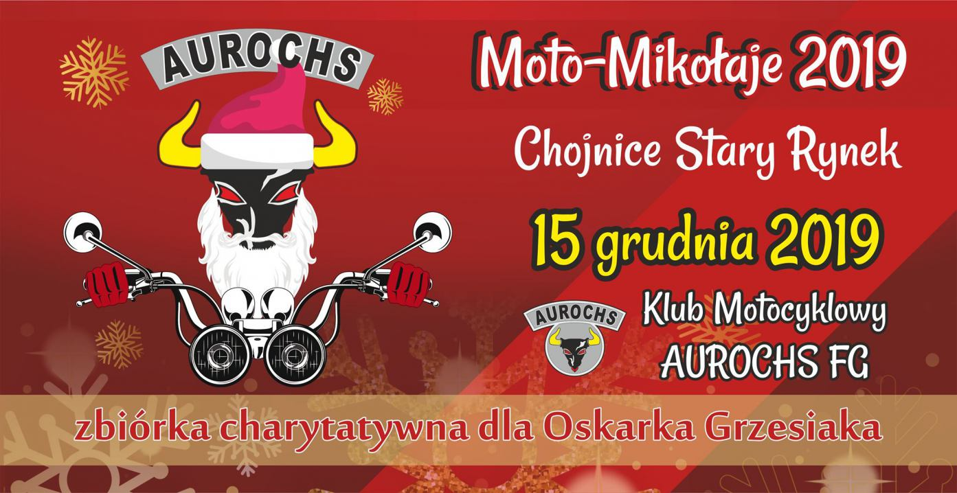 Dziś 15.12 na chojnickim rynku Moto-Mikołaje