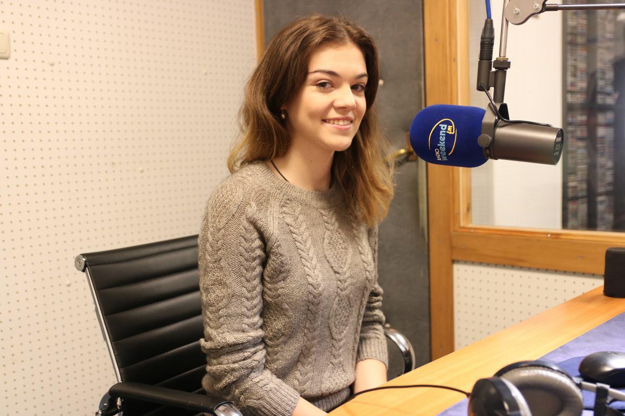 Chojniczanka w finale międzynarodowego konkursu kolęd. Posłuchaj jak zaśpiewała na żywo w studiu Weekend Fm.