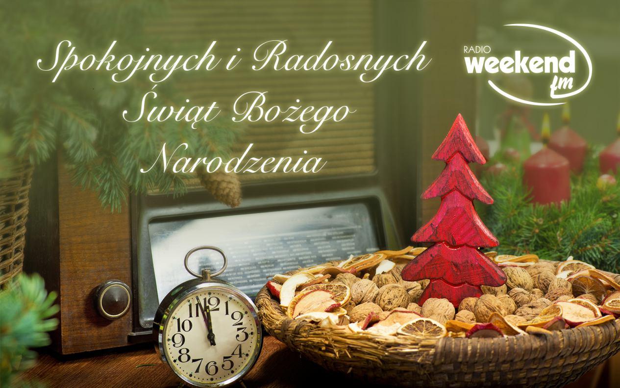 Wesołych Świąt życzy cała załoga Weekend FM!