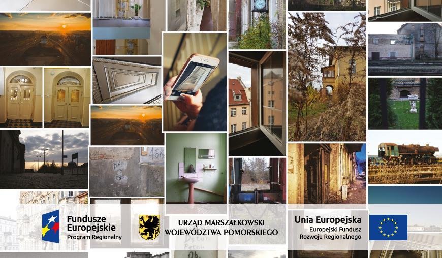 Przy Chojnickim Centrum Kultury można oglądać plenerową wystawę po warsztatach pod nazwą FotoSpacer