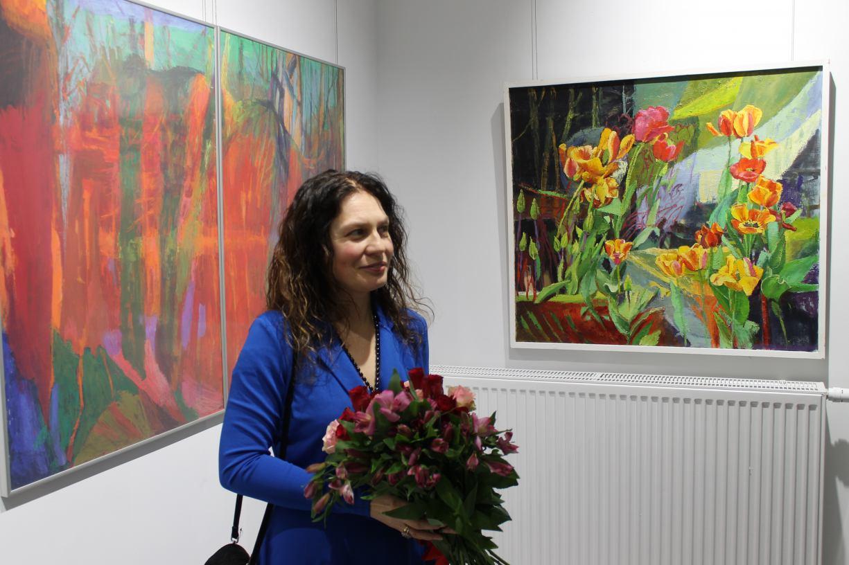 W sali wystawowej Chojnickiego Centrum Kultury można już oglądać wystawę malarstwa Małgorzaty Bratz Ciemińskiej