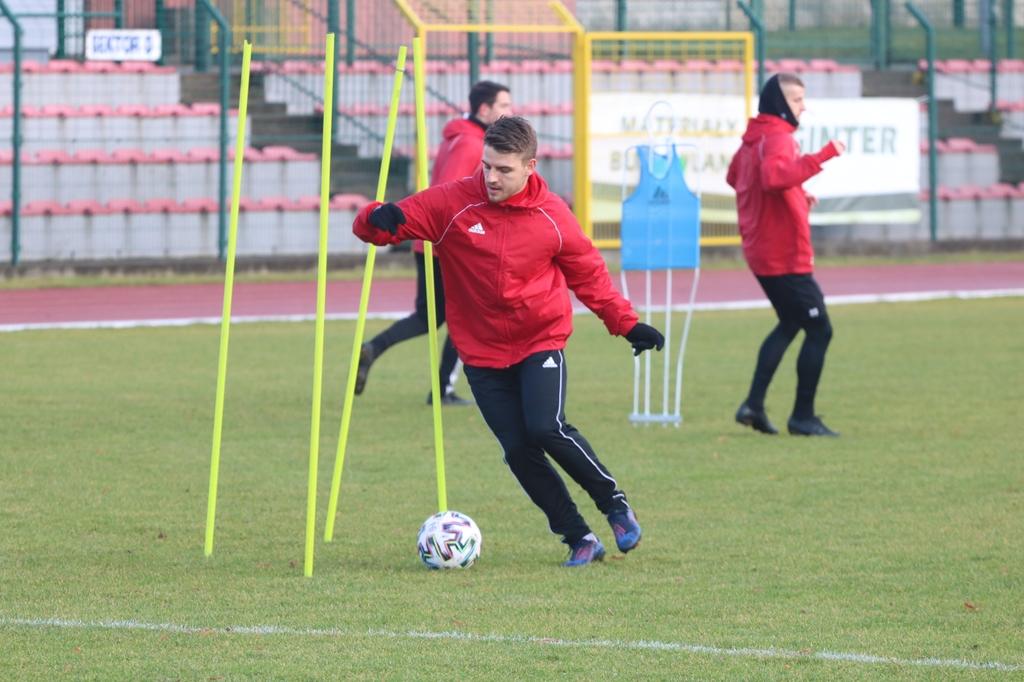 Piłkarze Chojniczanki rozpoczęli przygotowania do rundy wiosennej (FOTO)