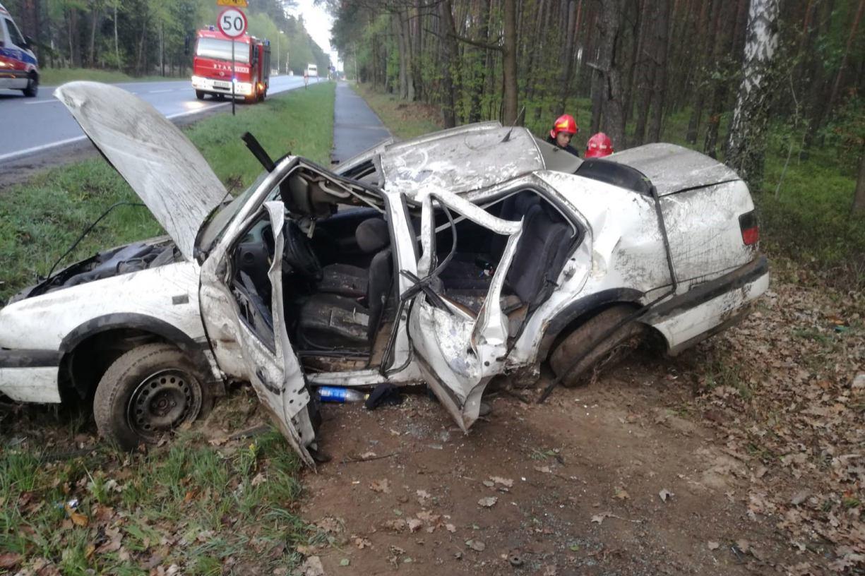 Są zarzuty dla 23-letniego mieszkańca gminy Człuchów. Spowodował śmiertelny wypadek